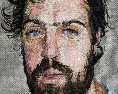 embroidered portraits. is this not the most amazing thing ever??? look at all of the detail!