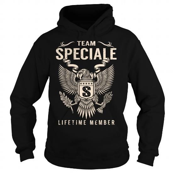 Cool Team SPECIALE Lifetime Member - Last Name, Surname T-Shirt T shirts