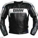 BMW MOTORBIKE JACKET, BLACK BMW BIKER LEATHER JACKET
