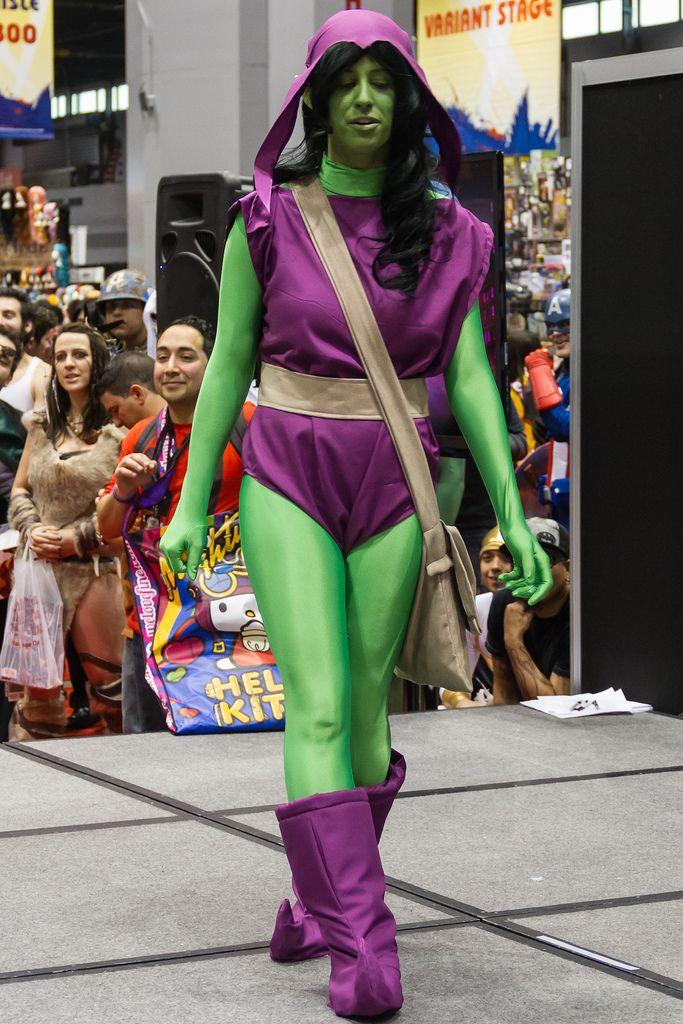 female green goblin costume - Google Search