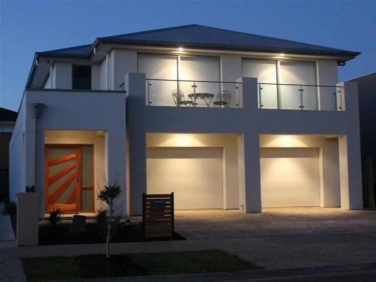Balcony, Classic, Contemporary, Glass, Modern, Rendered, Two Storey
