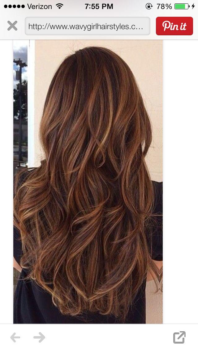 25 Best Ideas About Thin Highlights On Pinterest Hair