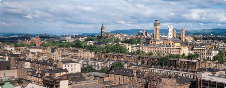 Cursos de Inglés en Glasgow, Escocia