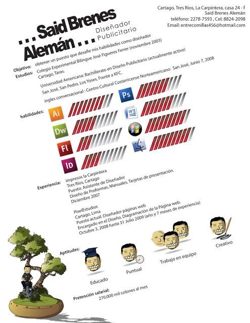 51 best C.V images on Pinterest | Resume, Creative curriculum and ...