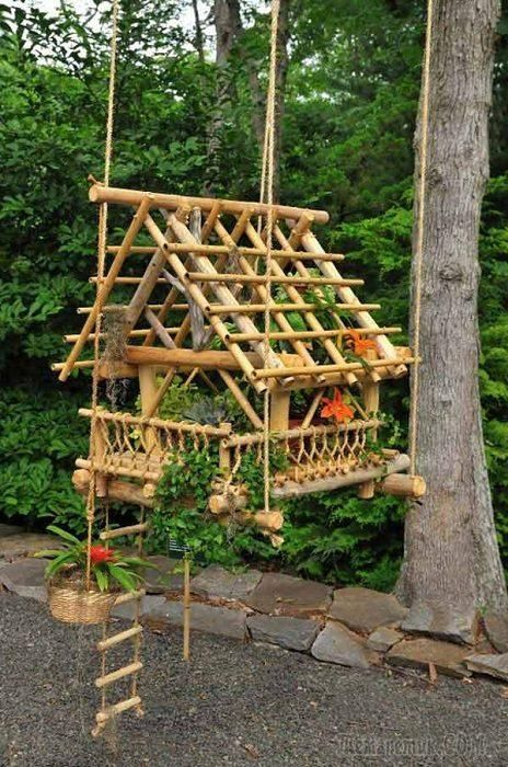Hanging Faerie Greenhouse ☽☯☾magickbohemian