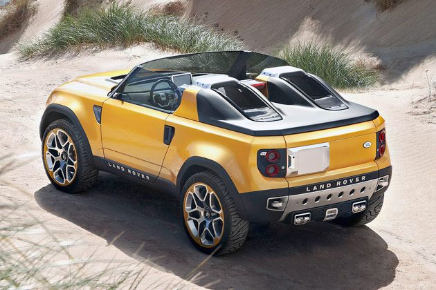 2015 Land Rover Defender Convertible