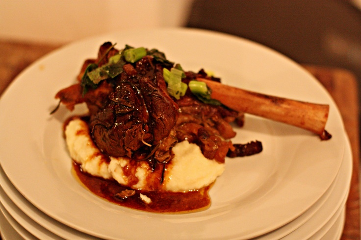 SecretEats dinner #1 lamb shank
