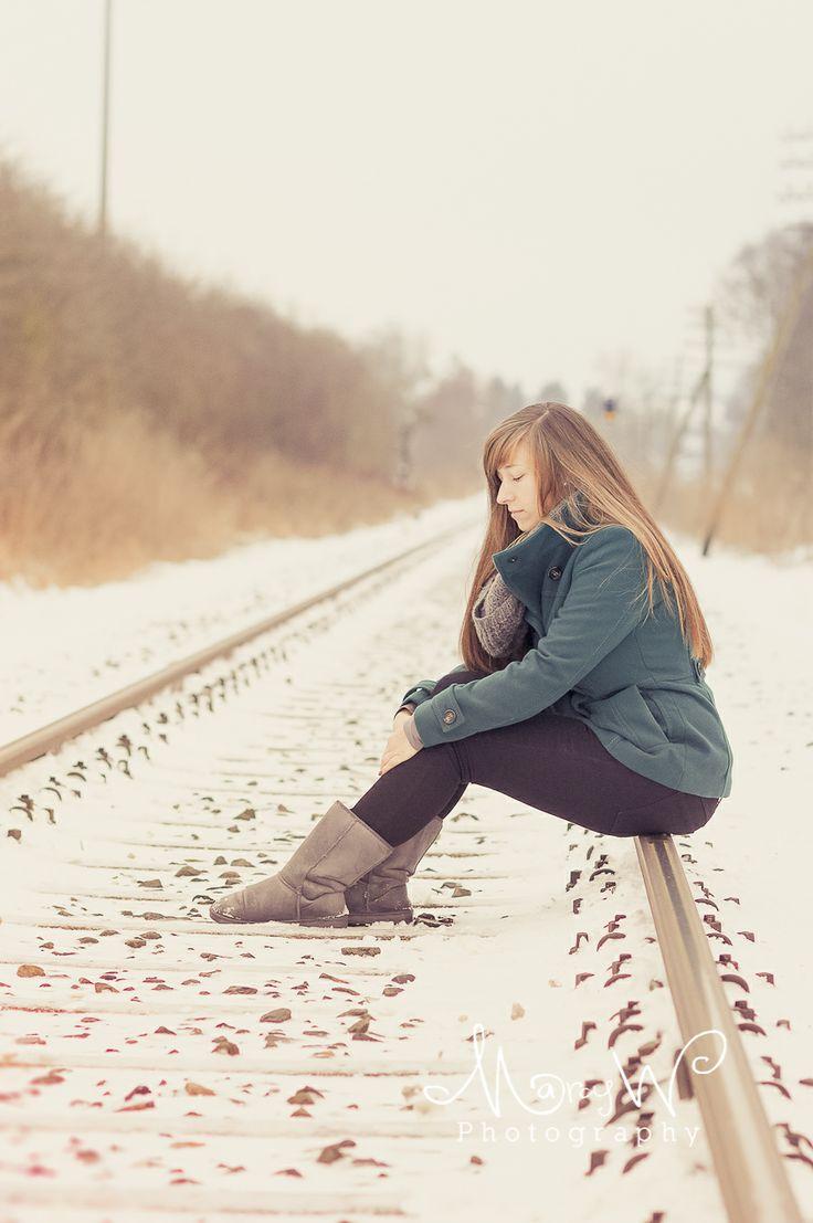 Portrait Snow Photography Www Marcellewortmann Bet You That Rail