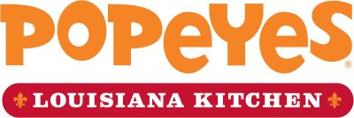 Popeyes Louisiana Kitchen Mobile Logo/no soy menu