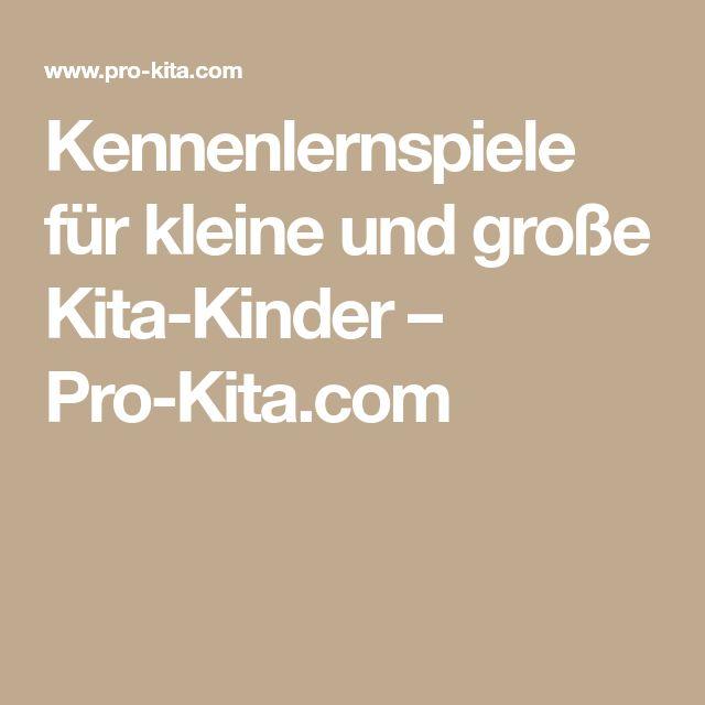 Kennenlernspiele für kleine und große Kita-Kinder – Pro-Kita.com