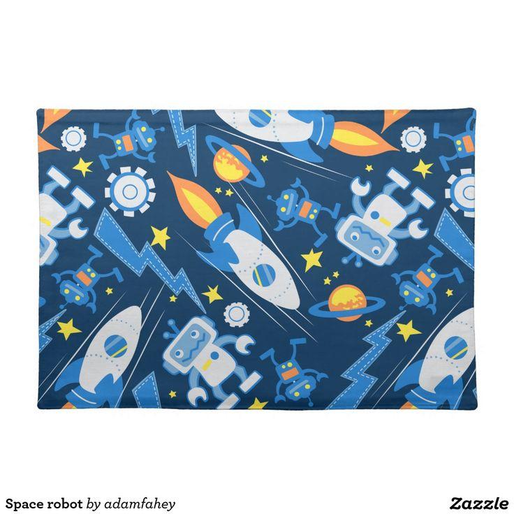 Space robot place mat