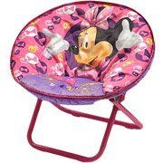 Kids' Folding Chairs - Disney Minnie Mouse Folding Saucer Chair >>> Click on the image for additional details.