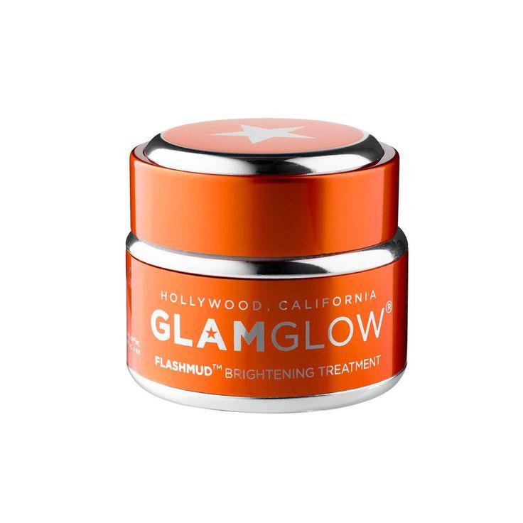 GlamGlow Flashmud 1.7-ounce Brightening Treatment (50g), Silver aluminum