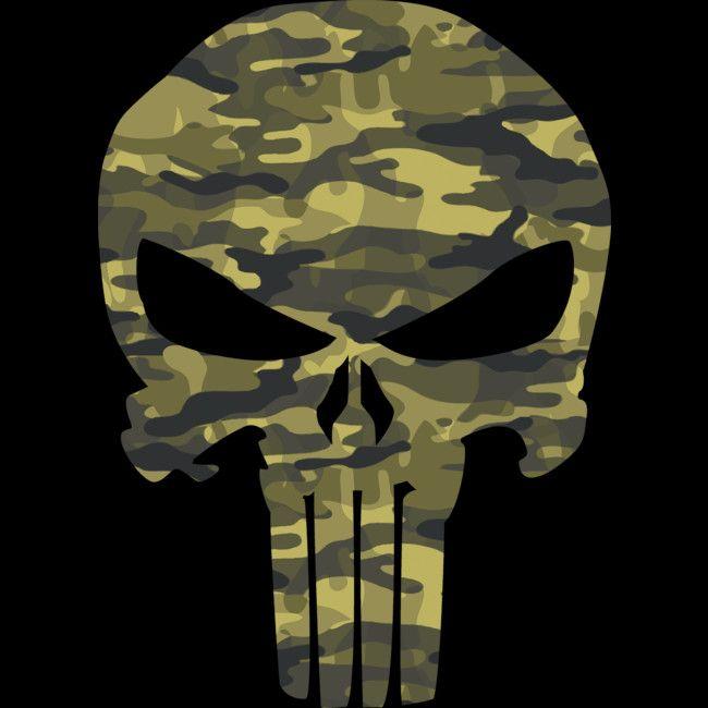 The Punisher New Skull Jon Bernthal Frank Castle Body Armor Relaxed T-Shirt-blk