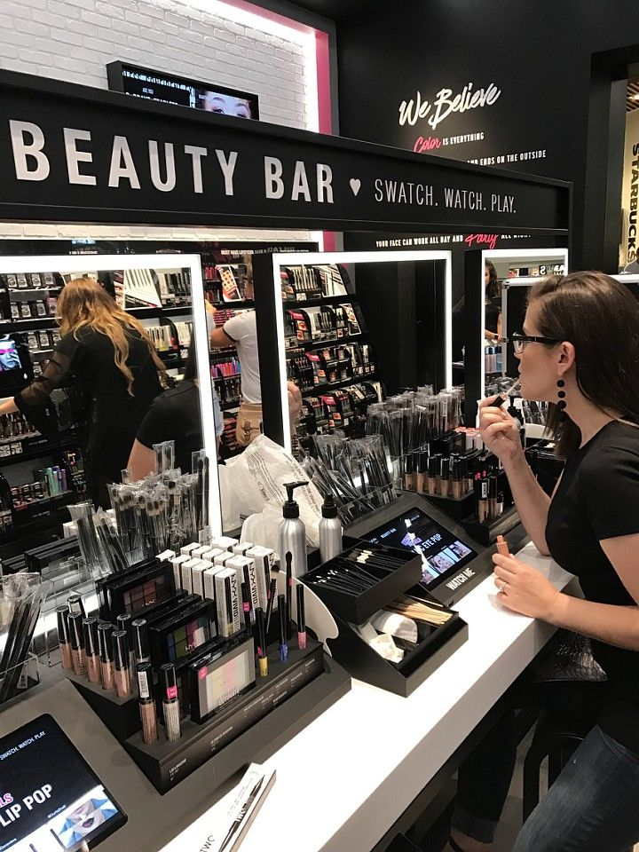 NYX STORE OPENING EVENT WOODFIELD MALL Makeup store