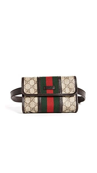WHAT GOES AROUND COMES AROUND GUCCI WAIST POUCH (PREVIOUSLY OWNED). #whatgoesaroundcomesaround #