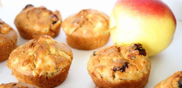 Appelmuffins met speltmeel