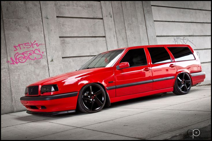 Volvo wagon. Momma car