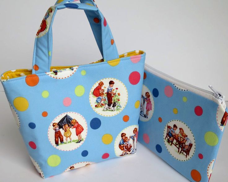 Girl's Bag with Purse / Pencil Case, Pretty Girls Bag Set, Pretty Colorful Bag, Zip Purse, Kids Polka Dots, Cute Kids Fabric, Gift for Niece by RachelMadeBoutique on Etsy https://www.etsy.com/au/listing/541517003/girls-bag-with-purse-pencil-case-pretty