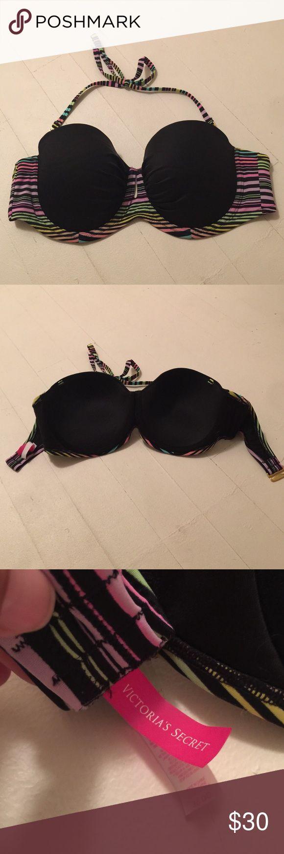 Victoria secret bikini swim top Worn once Victoria secret bikini top Victoria's Secret Swim Bikinis