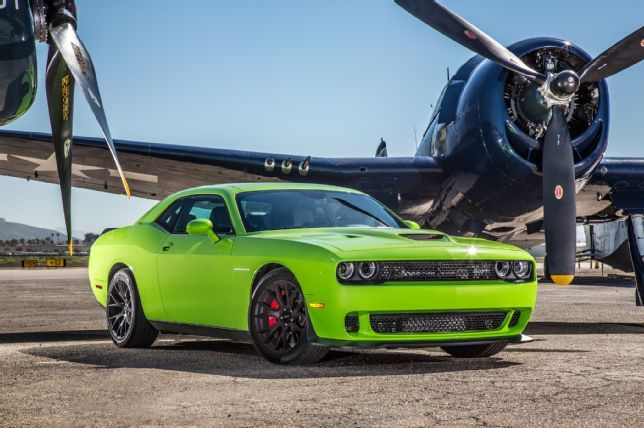 """The 2015 Dodge Challenger SRT Hellcat goes from 0-60 MPH in 3.7 seconds. Among the """"Top 25 Quickest 2015 Cars and SUVs"""" as reported by Motor Trend Magazine!"""