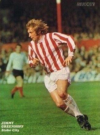 Jimmy Greenhoff Stoke City 1974