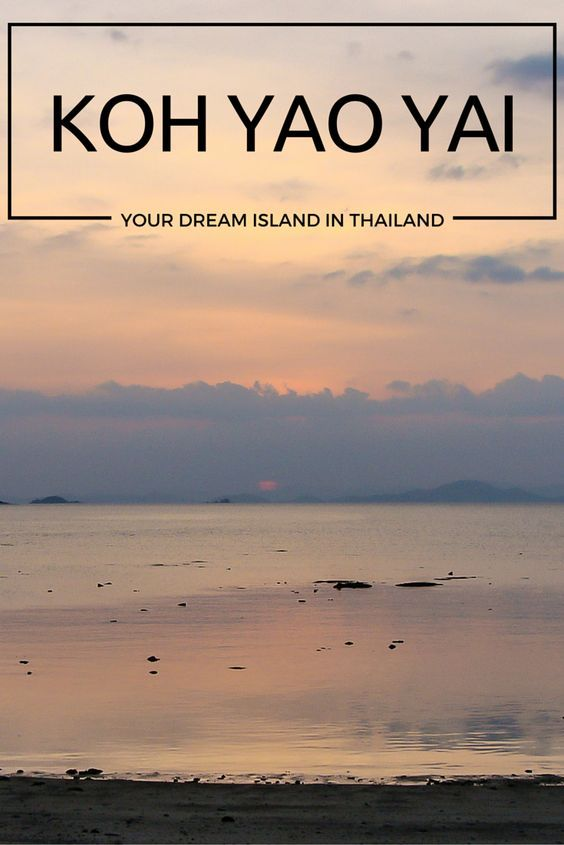 Your dream island in Thailand.