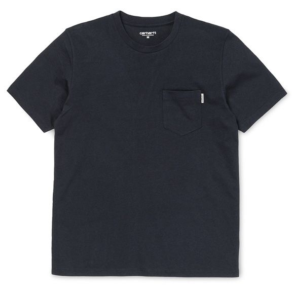 Carhartt WIP Graham Pocket T-Shirt - Navy