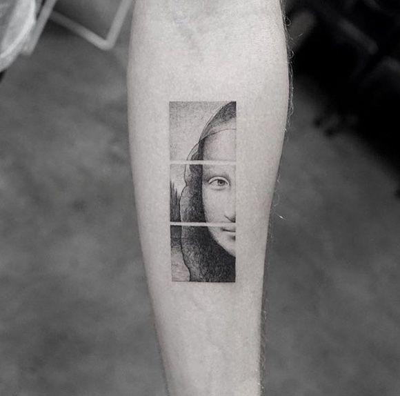 Le Mona Lisa par Sanghyuk Ko