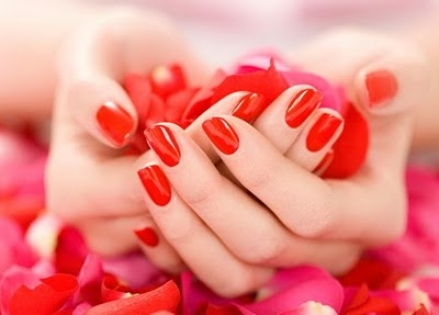 nothing like red nails for fall :)