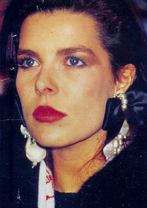 a young Caroline van Monaco
