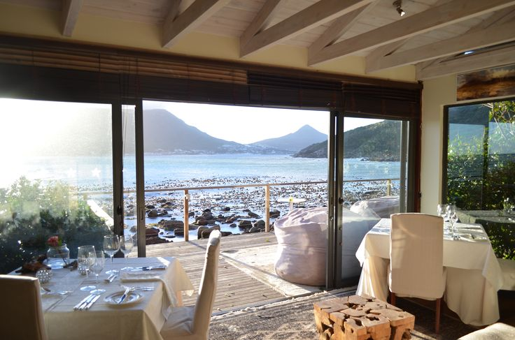 Morning tranquility in the Tintswalo Atlantic restaurant