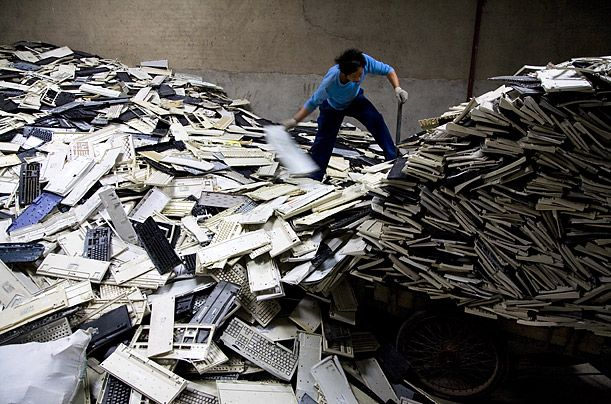 A look at Guiyu, China's electronic waste village.