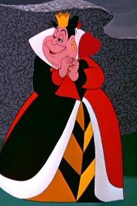 Alice In Wonderland 1951 Queen Of Hearts