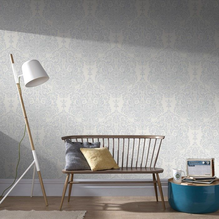 Melody Grey Wallpaper by Graham and Brown