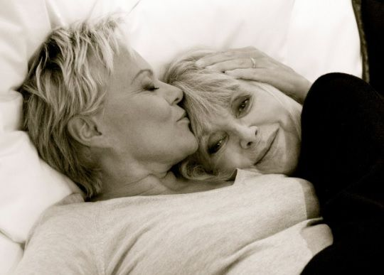 Lesbian older couple   Girls in love, Couples in love