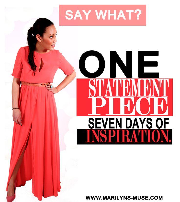 #one #statementpiece #fashion #inspiration
