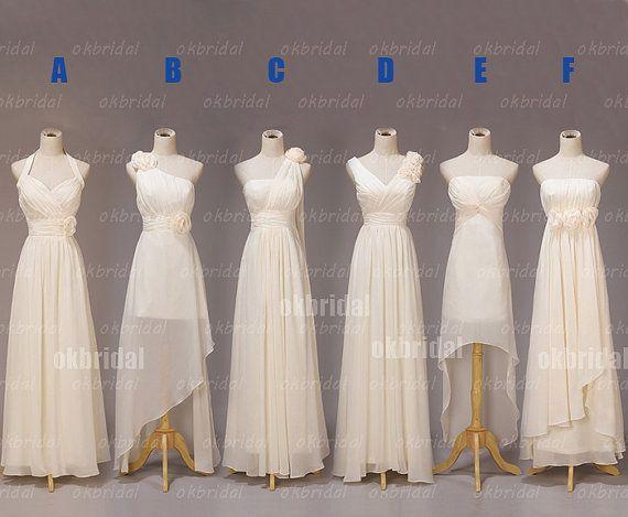 long bridesmaid dresses chiffon bridesmaid dress by okbridal, $119.99
