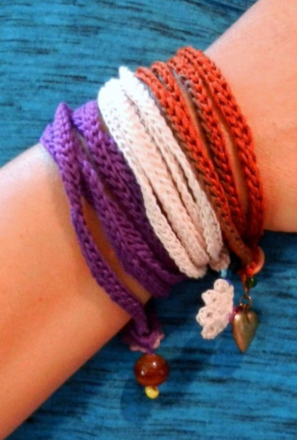 Charmed Wrap Bracelet Free Crochet Pattern