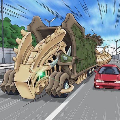 Fossil Machine Skull Convoy