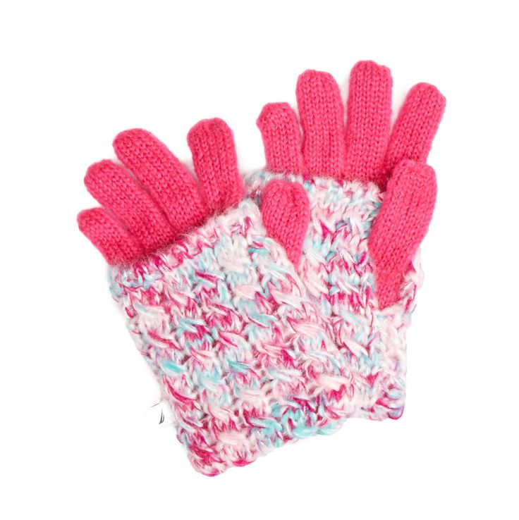 Space-Dyed Lurex 2-in-1 Glove - Oxford Pink | Nautica