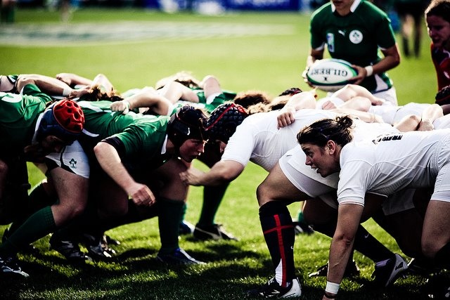 England and Ireland Women's Rugby