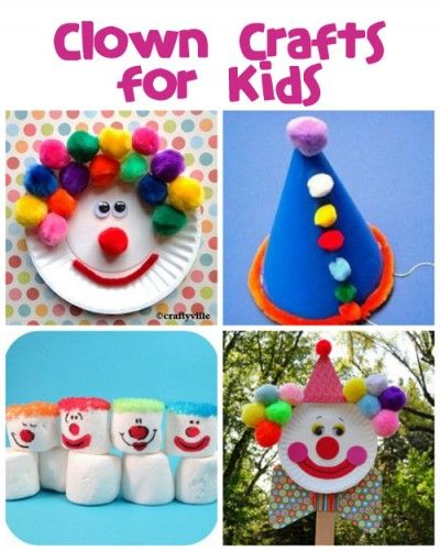 1000 images about preschool circus theme on pinterest for Craft ideas for little kids