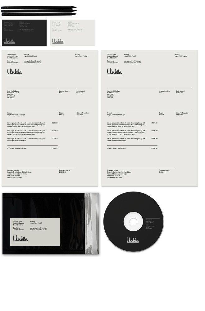Best Invoice Design Images On   Invoice Design Brand