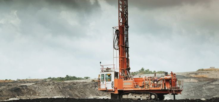 <p>Two Sandvik D245S blasthole drill rigs at Jembayan are always on the move, drilling the 8.5-metre-deep holes that the blasting team fills with explosives several times a day.</p>