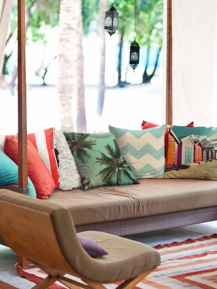Summer Vibing!! Zaab Homewares latest cushion range.