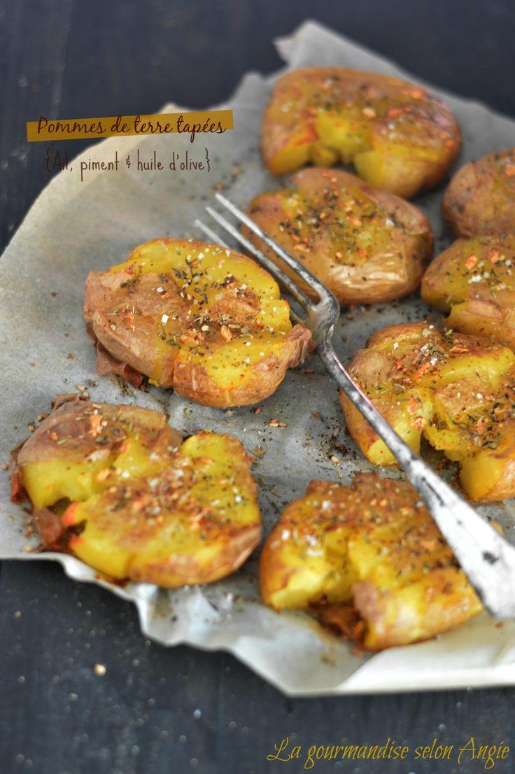 pommes de terre tapées ail piment 1