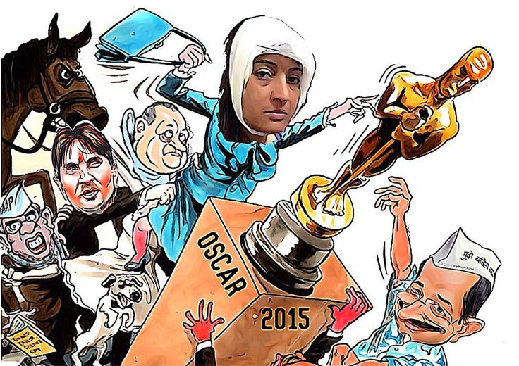 Well @LambaAlka is very talented...beating mentor kejriwal to the best actor award isn't easy,,,