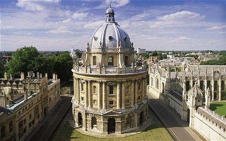 Radcliffe Camera, Oxford University, Oxford, England