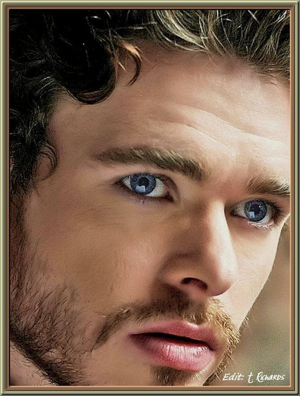 The beautiful Richard Madden (Robb Stark)